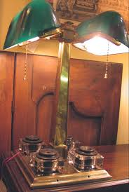 Green Bankers Lamp History by Vintage Wednesday Emeralite The Banker U0027s Lamp