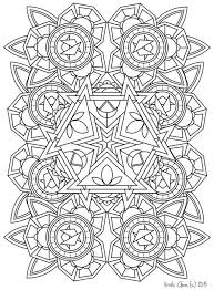 Printable Intricate Mandala Coloring Pages Instant Download PDF Doodling Page Adult