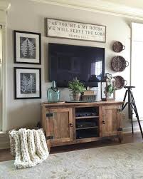 Rugged Barnwood Television Console Cabinet Farmhouse Living Room DecorRustic