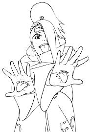 Coloriage Gratuit Naruto