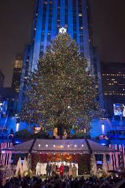 Christmas Tree Rockefeller Center 2016 by Tori Kelly Pentatonix More Perform On