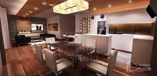 küche und esszimmer einrichtung planung