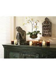 buddha wandboard buddha orchidee bei heine de zen