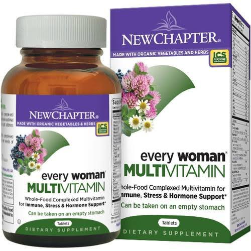 New Chapter Every Woman's One Daily Multivitamin Supplement - 48 Count]