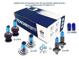 imip 8 pack xenon headlight bulbs h11 w5w h7 h1 compatible fit