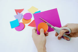 Use The Templates Provided To Cut 10 Of Each Shape From Coloured Card We Used Two Different Colours For 5 Colour
