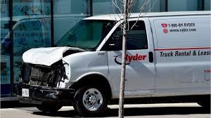 100 Rider Truck Rental Driver Kills 9 On Crowded Toronto Sidewalk YouTube