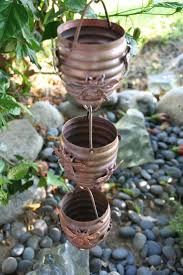 Decorative Outdoor Rain Gauges by 85 Best Copper Gutters Rain Chain And Downspouts Images On