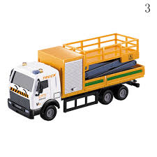100 Garbage Truck Toy 6 Style 143 Racing Bicycle Shop Car Carrier Vehicle