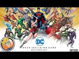 dc deck building game multiverse box game preview at origins