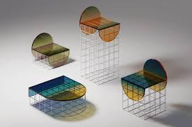 Circle Set Furniture Design: Ombré Glass In A New Light