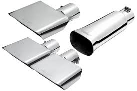 100 Gibson Super Truck Exhaust Sport Tip Square System Tips