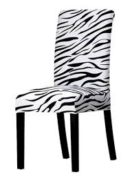 Dining Chair Slipcover White/Black 0.135 Kg Price In Saudi ... Us 701 45 Offnew Spandex Stretch Ding Chair Cover Machine Washable Restaurant Wedding Banquet Folding Hotel Zebra Stripped Chairs Covergin Yisun Coverssolid Pu Leather Waterproof And Oilproof Protector Slipcover Black 4 Pack 100 Room Navy Blue And White Unique Bargains Removable Short Slipcovers Nanpiperhome Elegant Elastic Universal Home Decor Searching Perfect Check Search Faux By Surefit Classic Cabana Stripe Long Covers Set Of 2 Ltplaza Modern Seat 4pcsset Damask Operi