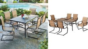 7 Piece Patio Dining Set by Belleville 7 Piece Outdoor Dining Set Only 299 Regular 499