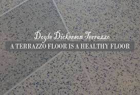 View Larger Image A Terrazzo Floor Is Healthy