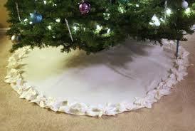 Poinsettia Tree Skirt Via Craftinessisnotoptional