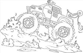 Monster Truck Drawings Color – Tradingboard.info