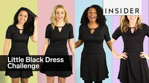 we asked four insiders to style the same little black dress youtube