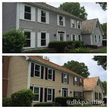 100 Cedar Siding Exterior Repaint Before And After Using Benjamin Moore