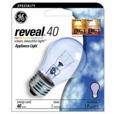 light bulb ge profile oven light bulb 40 watt appliance a15 uses