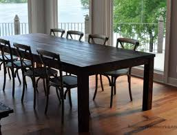 Old Wood Dining Room Table by Reclaimed Wood Table With Original Tenons Antique Woodworks