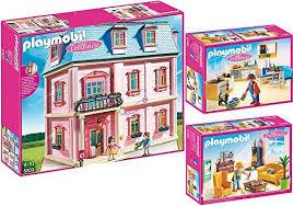 playmobil dollhouse 3er set 5303 5308 5336 romantisches