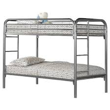 metal bunkbed kids bed frame twin full silver everyroom target