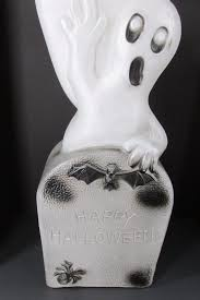 Vintage Halloween Blow Molds by Vintage Halloween Blow Mold Ghosts W Tombstone Don Featherstone
