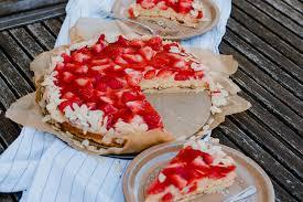 erdbeer pudding kuchen schnell gemacht antonella s backblog