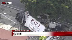 100 Truck Driver News Box Truck Driver Dies In Rollover Crash In Miami