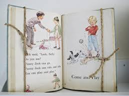 Happy At Home Vintage Book Display