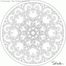 To Print Mandala Coloring Pages For Adults Free 72 With Additional Kids