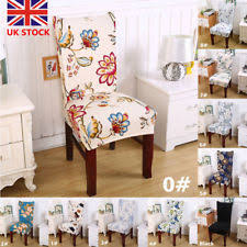 Removable Elastic Stretch Slipcover Wedding Banquet Dining Room Chair Seat Cover