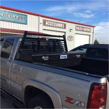 Gun Rack For Truck Tool Box Installed Ranch Hand Louverd Headache ...