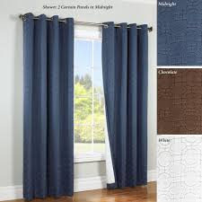 Burgundy Grommet Blackout Curtains by Blackout Curtains And Thermal Curtain Panels Touch Of Class