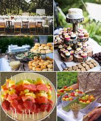 Diy Backyard Wedding Food Ideas Party Wonderful With Picture Of Interior