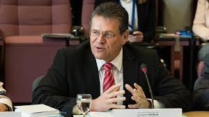 100 Sefcovic Sheds Light On Nord Stream 2 Negotiations EURACTIVcom