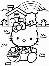 21 Hello Kitty Happy Birthday Coloring Pages 6313 Via Azcoloring