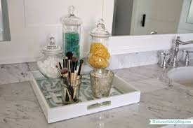 Gold Mercury Glass Bath Accessories by Extraordinary 40 Master Bathroom Accessories Decorating Design Of