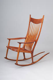 sam maloof rocking chair class a and important cherry rocking chair by sam maloof be