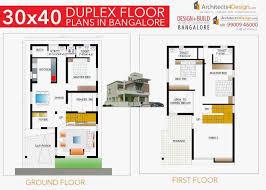 100 Duplex House Design S 1200 Sq Ft Luxury 30x40 Plans In
