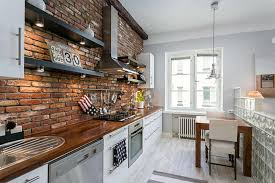 Full Size Of Interiorbrick Apartment Interior Compact With White And Rustic Brick