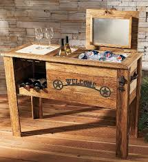 wood cooler plans wooden pdf outdoor furniture woodworking