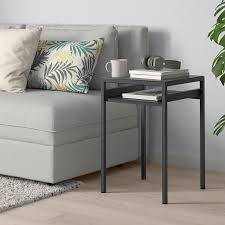 nyboda side table w reversible table top grey concrete