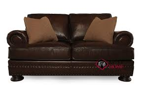 Bernhardt Foster Leather Furniture by Quick Ship Foster By Bernhardt Leather Loveseat In By Bernhardt