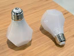 nanoleaf s gem led light bulb shines like a glimmering