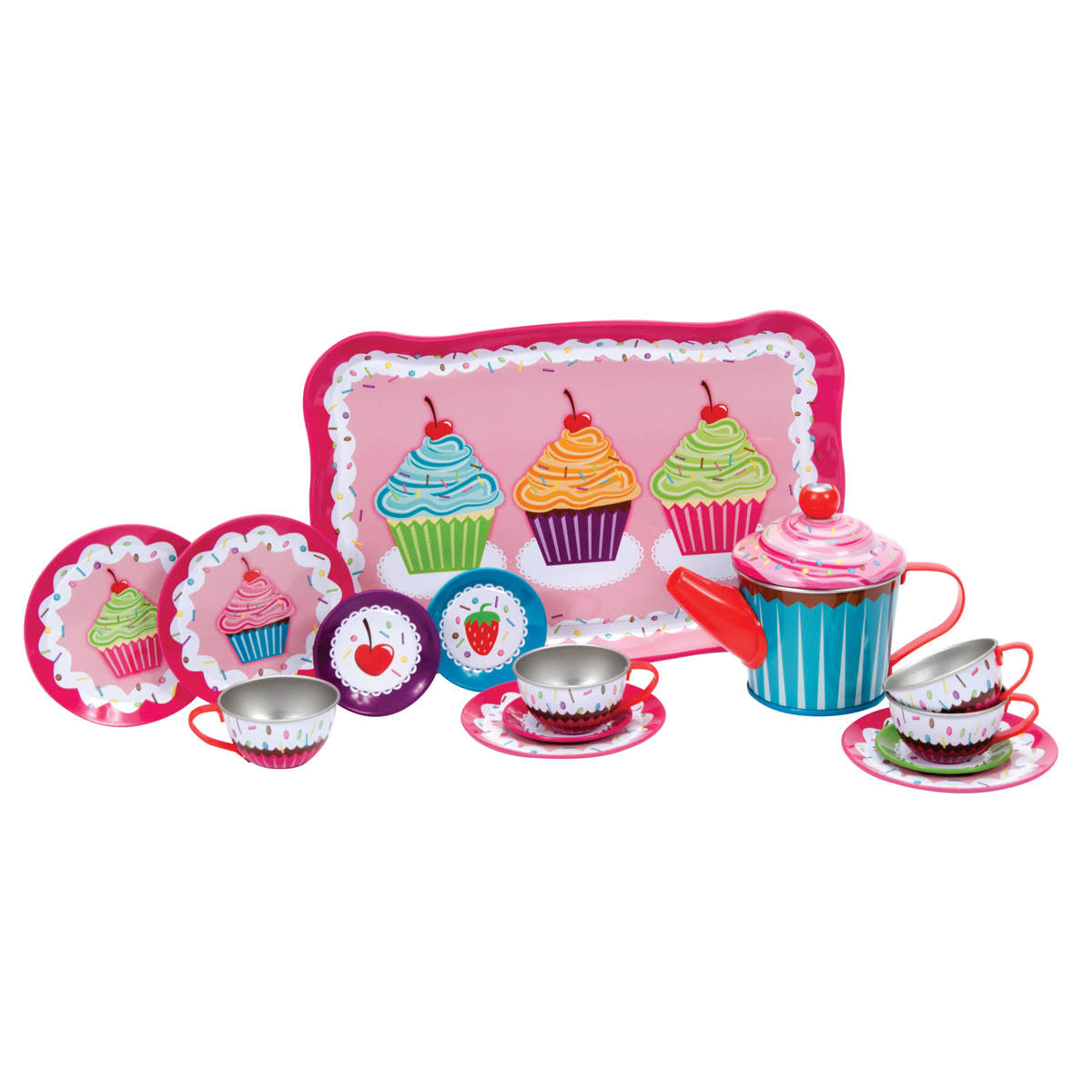 Schylling Cupcakes Tea Set