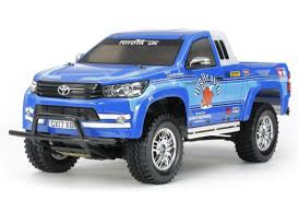 100 Rc Model Trucks Tamiya 110 CC01 Toyota Hilux Extra Cab RC Truck Kit 58663