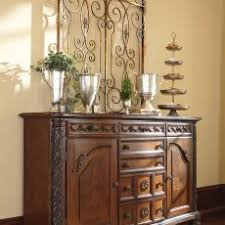 Fashionable Idea Antique Dining Room Buffet Server North Shore Dark Brown Top Drawer Furniture