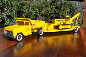 1958 Custom Tonka State Hi-Way Lowboy With Road Grader | TOYS ... Tonka Mini Truck Free Stock Photo Public Domain Pictures Trucks Lot Of 6 Good Cdition Tiny Dump Surprise Blind Boxes Trucks Youtube Cstruction Vehicles Toysrus Australia Bed Kit Or Dirt Cost With Large For Sale Plastic Diecast Ebay Vintage Bottom Large 25 Long Yellow 1960s Amazoncom Lights And Sounds Toughest Minis Tow Toys Toy Cars Mighty Ford F750 Sales Near South Casco Chuck Friends Rowdy The Garbage Carrier Amazonco